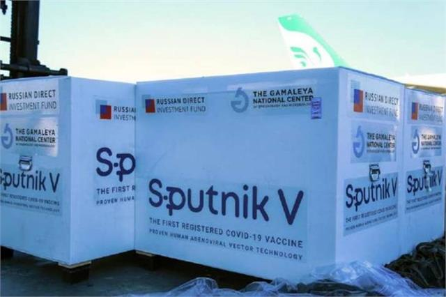 sri lanka receives 1st batch of sputnik v shots