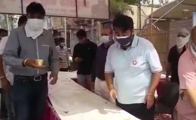 mla aseem goyal set up mega vaccination camp