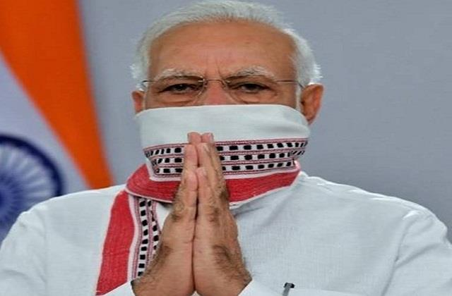 pm modi salutes the nurses for serving patients during the corona period