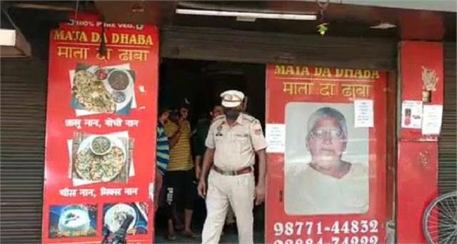 mata ka dhaba was open in lockdown police arrested owner