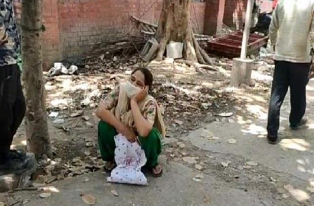 jalandhar civil hospital shameful behaviour with wife