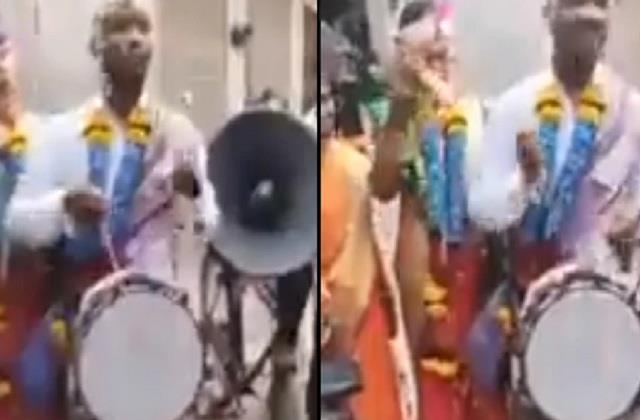 video viral groom band