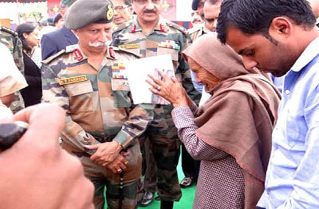 northern command will take care of families of ex soliders