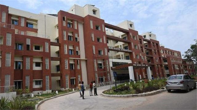 embarrassed by the chandigarh administration of pgi
