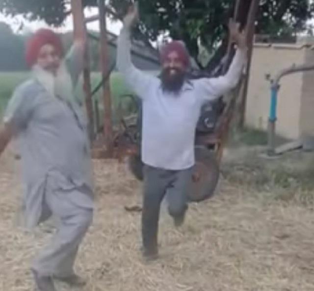 punjab celebrating bjp s defeat see photos
