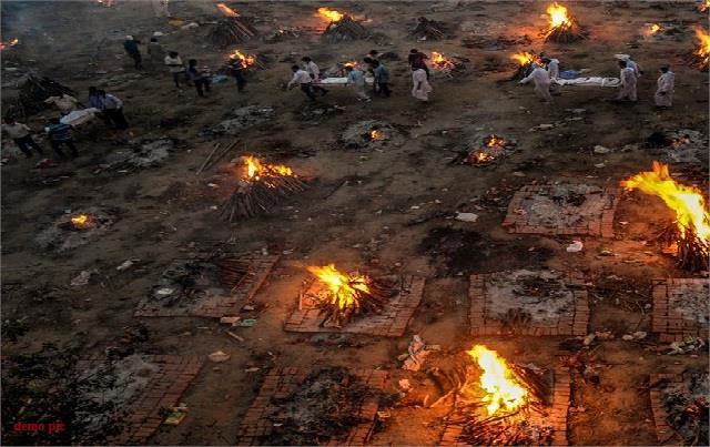 corona effect cremation in jalandhar crematorium doubled
