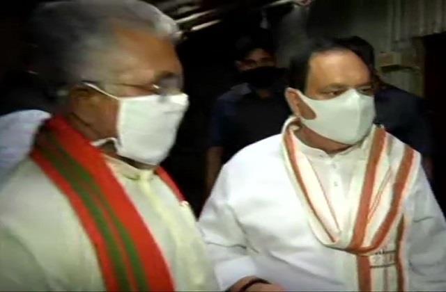 bengal violence bjp president jp nadda reaches west bengal