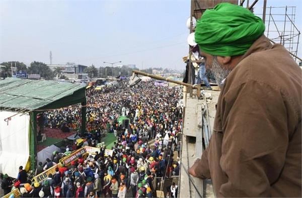 national news punjab kesari farmers protest balbir singh rajewal tikri singhu
