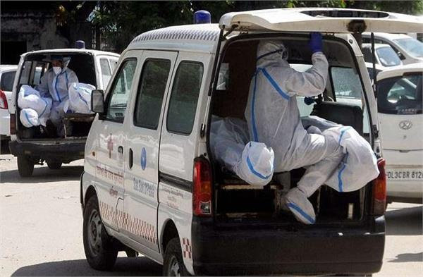 maharashtra corona deceased did not get ambulance