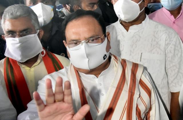 nadda targets mamata banerjee says bengal violence reminds of partition