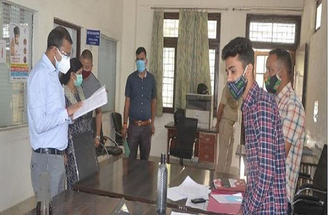 dm took stock of disaster management control center