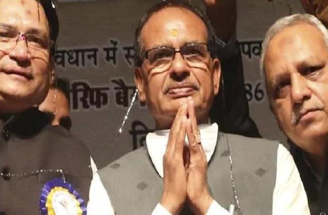shiv sena rare praise for shivraj singh chouhan govt