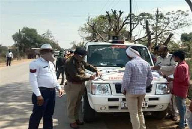 up traffic police strict 150 people who disregard rules cut challan