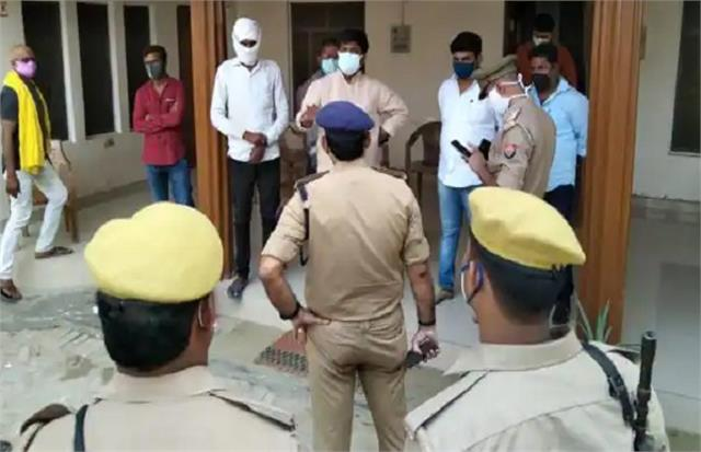 ajit singh murder case police raids his residence in search of dhananjay singh