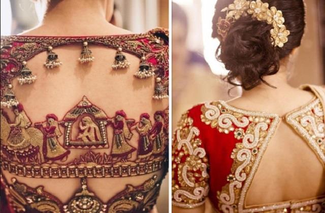 Bridal Fashion: माॅडर्न दुल्हन ट्राई करे ये ट्रेंडी Blouse Back Designs