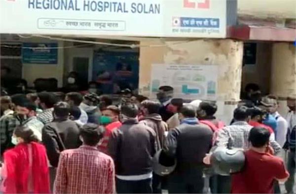 impact of corona curfew in markets crowd in hospital
