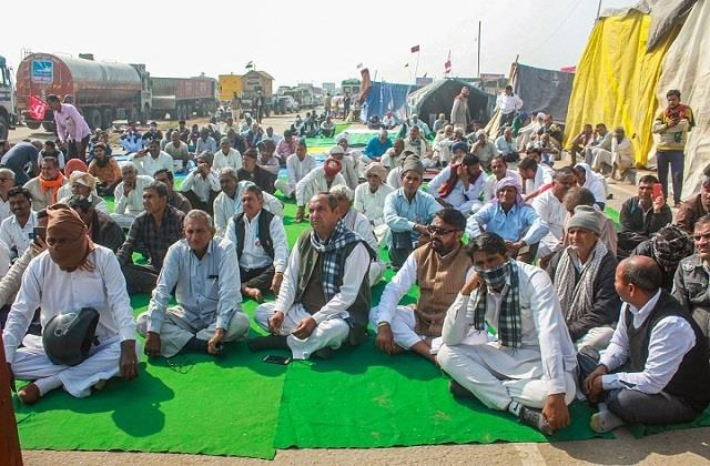 farmer movement continues in the midst of covid epidemic
