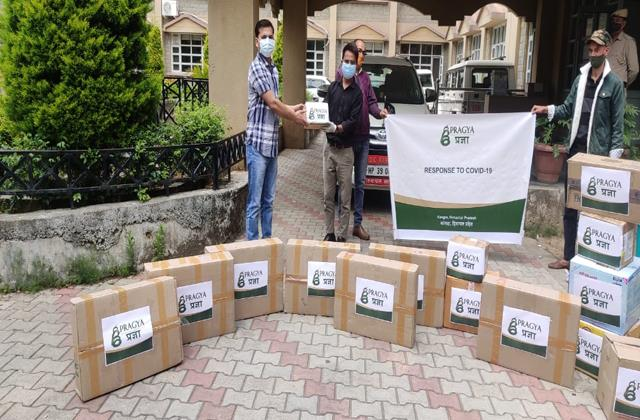 oxygen constants oximeters and essential medicines arrived in kangra from uk