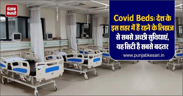 covid beds this city of the country has the best facilities in terms of living