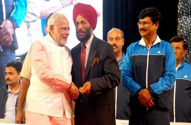 pm modi expressed grief over the death of flying sikh milkha singh