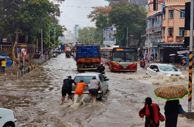 monsson orange alert mumbai