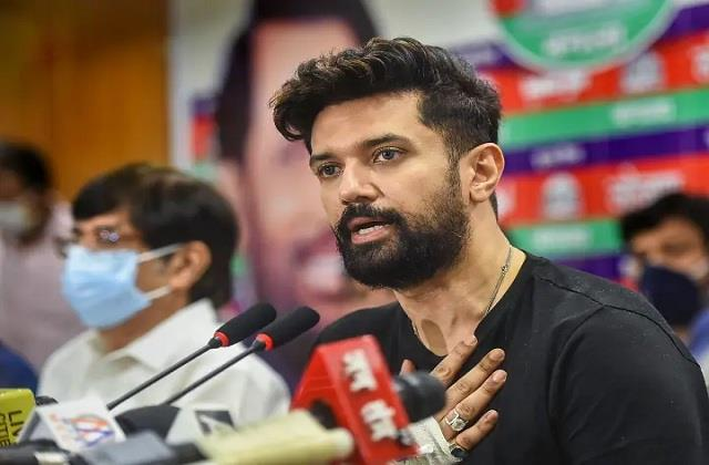 chirag paswan convened a meeting of the party s national executive on sunday
