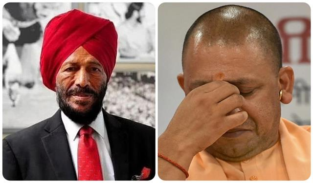 due to the death of milkha singh there was a wave of noise