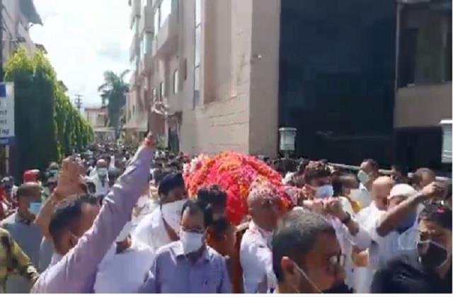 indira hridayesh will be given a final farewell in haldwani