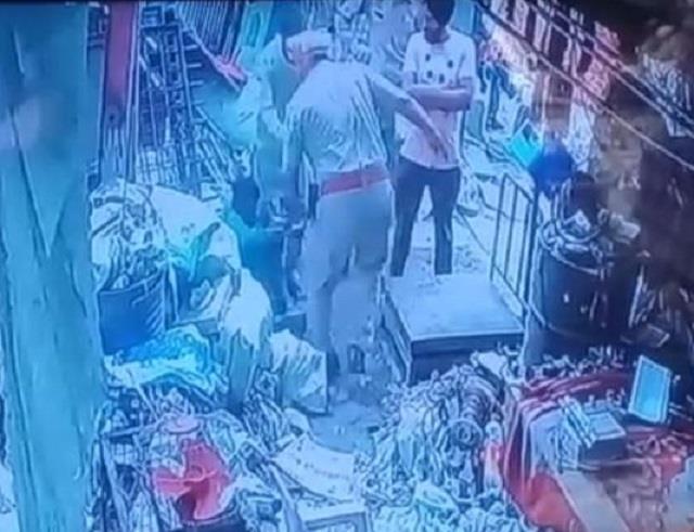 divyang brutally beaten up by asi video viral