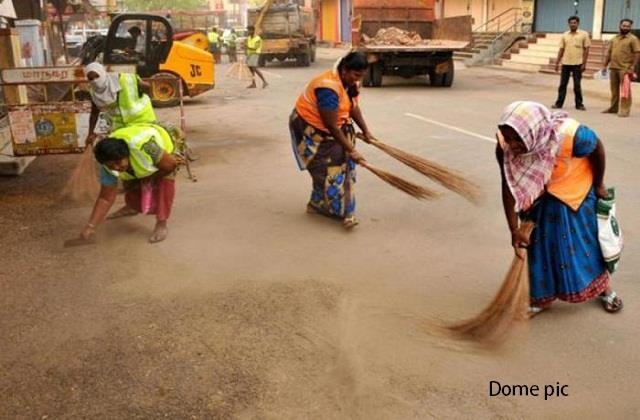 daily wage scavengers are also facing difficulties during the corona period
