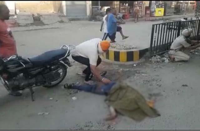 bike rider dead in road accident