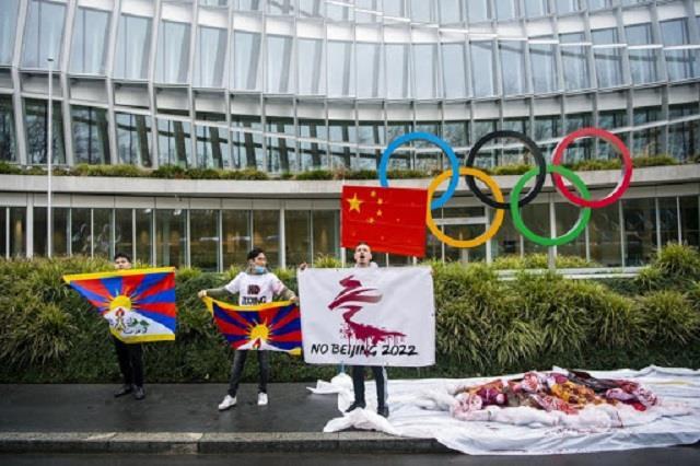 global leaders push for  diplomatic boycott  of beijing winter olympics