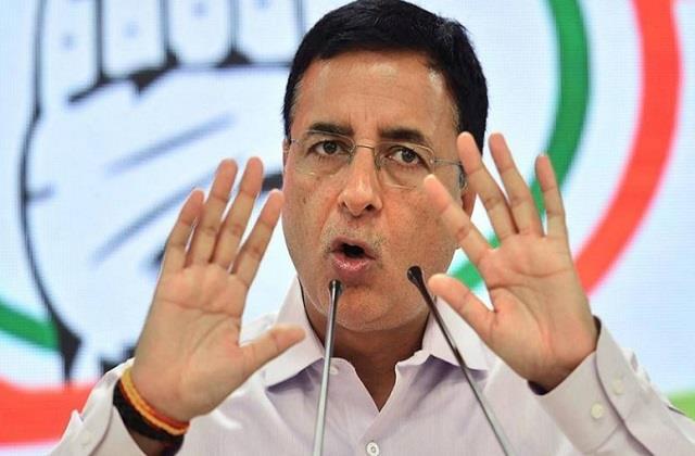 national news punjab kesari delhi congress randeep surjewala