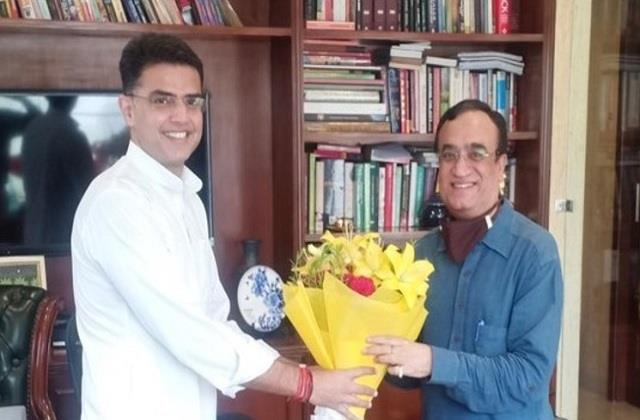 ajay maken says pilot is the star of congress