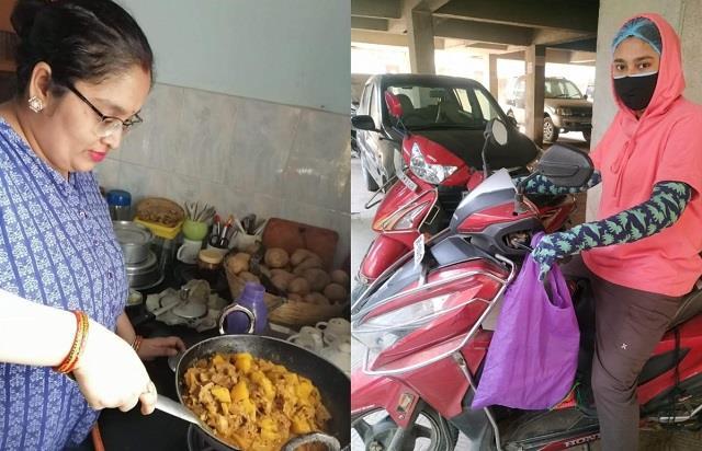 Helping hands! दो बहनें की अनोखी पहल, खुद खाना बनाकर कोरोना मरीजों तक पहुंचा रही फ्री