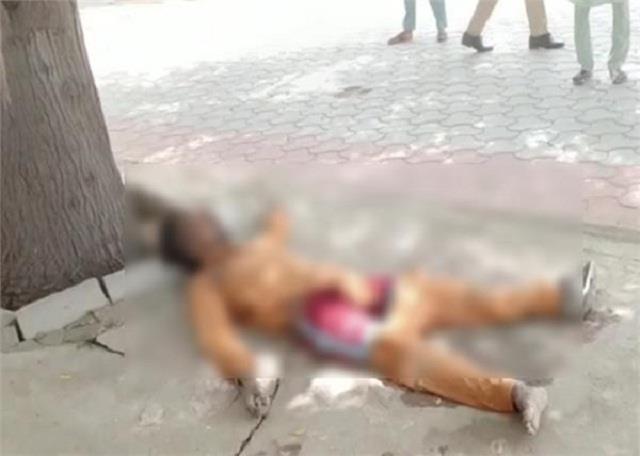 dead body found near gurdwara damdama sahib