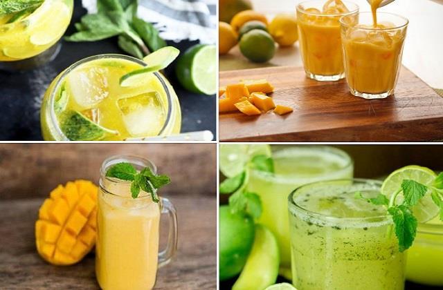 घर पर बनाकर पिएं ये ठंडी-ठंडी 4 Mango Drinks
