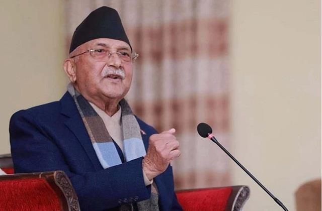 now nepal claim on yoga pm oli said  did not start in india