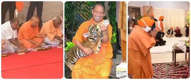 birthday special see those pictures of cm yogi which are heart touching