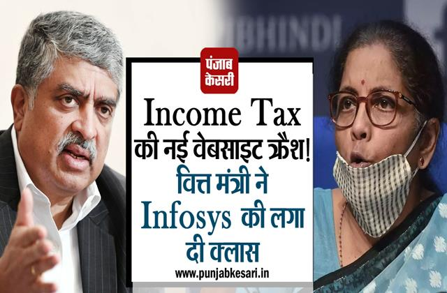 there were technical flaws in the new website of income tax