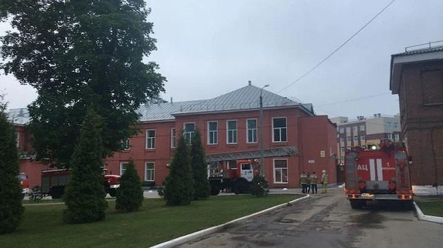 ventilator suspected as fire kills three at russian hospital