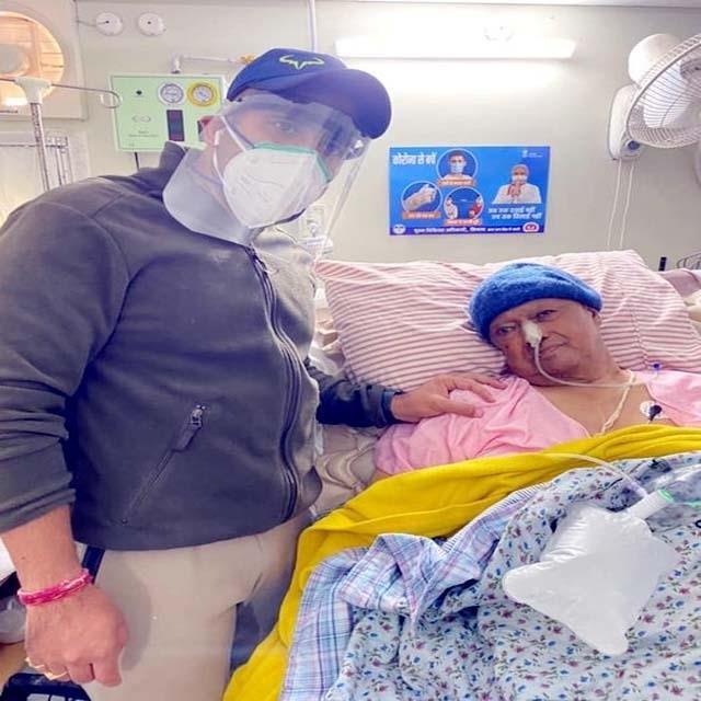 virbhadra singh s health improves vikramaditya shared photo