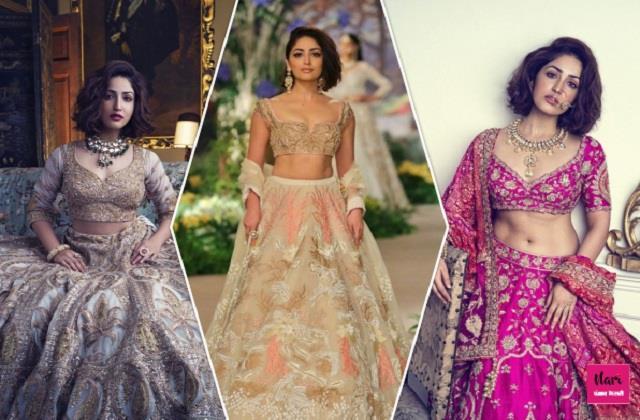 यामी गौतम के ये 10 डिजाइनर लहंगे Brides के लिए परफेक्ट