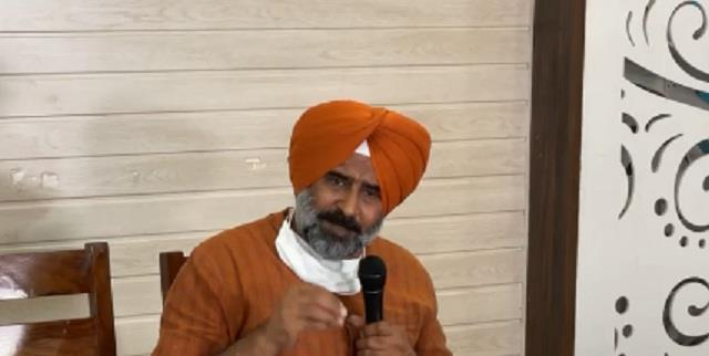 pargat singh  went live before the decision of the high command