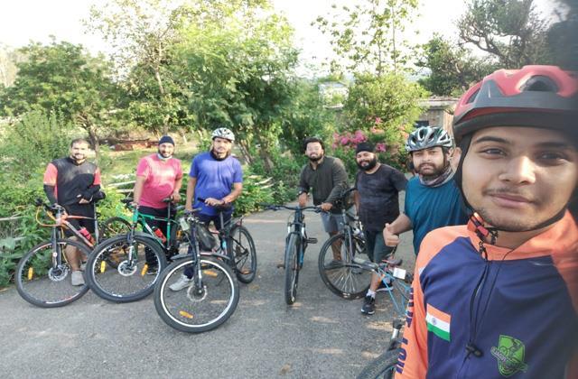 cycle yatra on world bal shram diwas