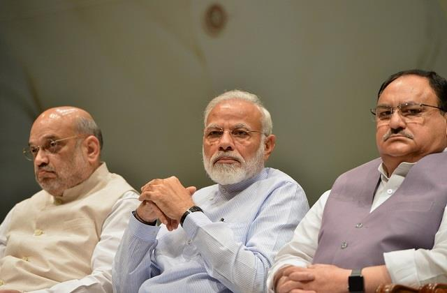 bjp meeting continues at pm s residence