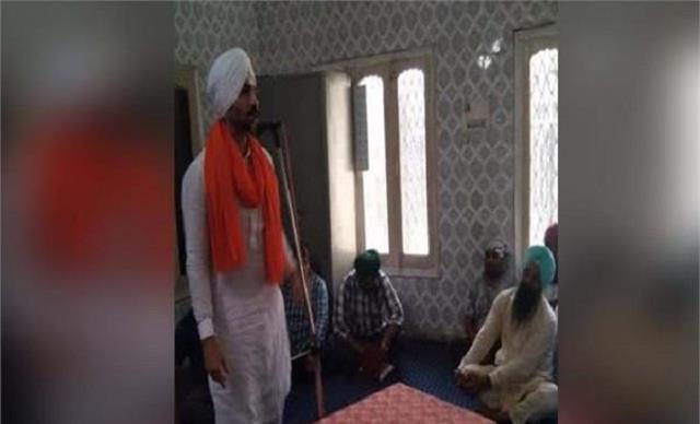 deep sidhu reached garhshankar