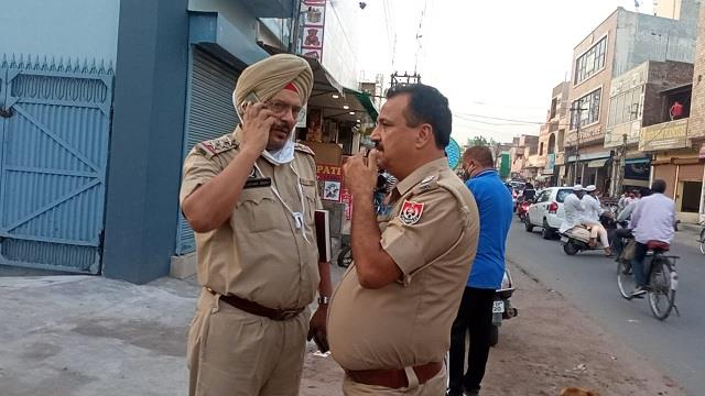 bullets fired once again in jalandhar