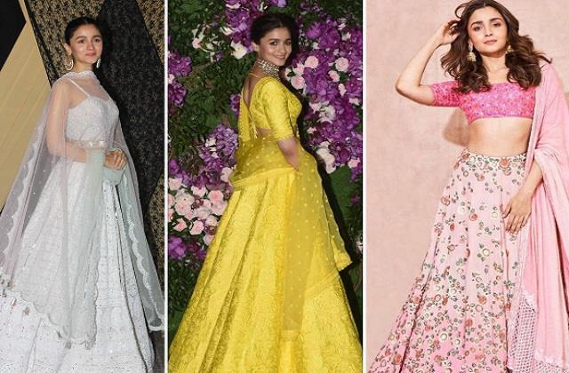 Fashion Trend: हर लड़की की पसंद बने आलिया के ये 10 डिजाइनर लहंगे