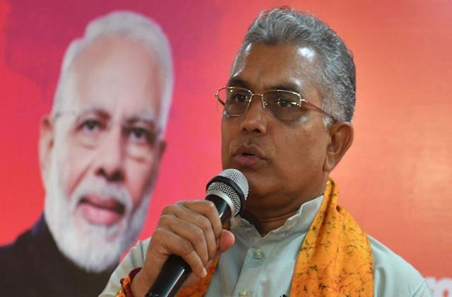 dilip ghosh said bjp will not have any effect due to the departure of mukul